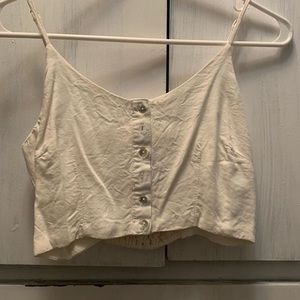 Cropped top from sirens size: small